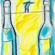 Alcoholism Art Print
