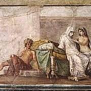 Aldobrandini Wedding. 1st C. Bc Art Print by Everett
