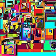 Alef Bais 1a Art Print