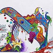 Aleph II Art Print by Dawnstarstudios