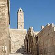 Aleppo Citadel In Syria Art Print
