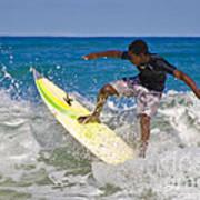Alex 16 Year Old Pro Surfer Art Print