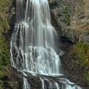 Alexander Falls Recreation Site - Whistler Bc Art Print