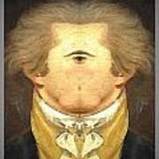 Alexander Hamilton Invert Art Print