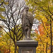 Alexander Hamilton Statue Print by Joann Vitali