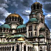 Alexander Nevski Cathedral Art Print