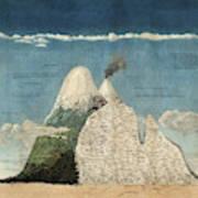 Alexander Von Humboldts Chimborazo Map Art Print