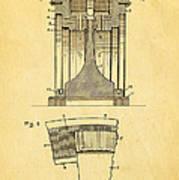 Alexanderson Altenator Patent Art 1911  Art Print