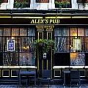 Alex's Pub Art Print
