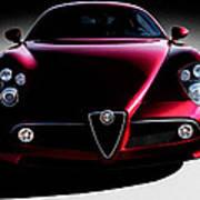 Alfa Romeo 8c Art Print
