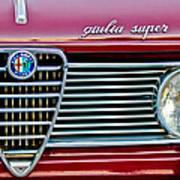 Alfa-romeo Guilia Super Grille Art Print