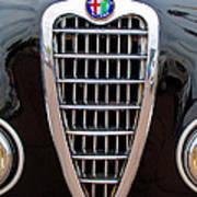 Alfa Romeo Milano Grille Art Print