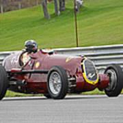 Alfa Romeo On Sam Posey Straight Art Print