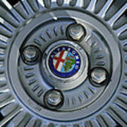 Alfa Romeo Wheel Rim Art Print