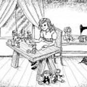 Alfred Talks To Tammy Art Print