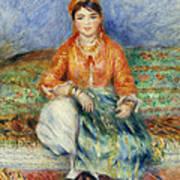 Algerian Girl Art Print