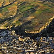 Alhama De Granada Volcanic Lands Art Print