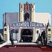 Alhambra Theatre Art Print