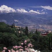 Alhambra View Art Print