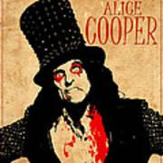 Alice Cooper 1 Art Print