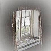 Alice's Window Art Print