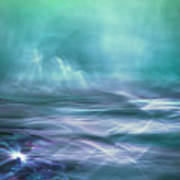 Alien Arctic Waters Art Print