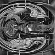 Alien Brain Art Print