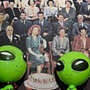 Alien Nostalgia Art Print