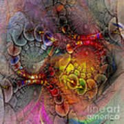 Alien Tundra - Square Version Art Print