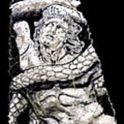 Alkyoneus Art Print