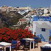 All About The Greek Lifestyle Art Print