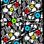 All Abut Music  Art Print