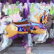 All American Pony Art Print