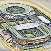 All England Lawn Tennis Club Art Print