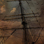 All I Ask Is A Tall Tall Ship Art Print