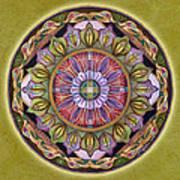 All Is Well Mandala Art Print