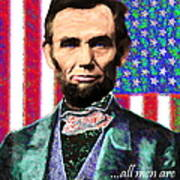 All Men Are Created Equal 20130115 Print by Wingsdomain Art and Photography