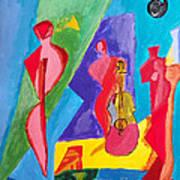 All My Jazz Art Print