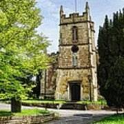 All Saints Church Weston Bath Art Print