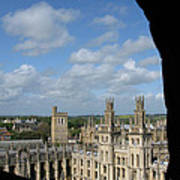 All Souls College And Beyond Art Print