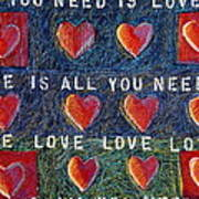 All You Need Is Love 2 Art Print