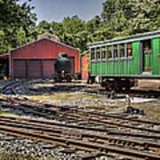 Allaire Rail Yard Art Print