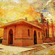 Allama Iqbal Tomb Art Print