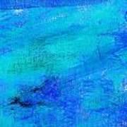 Allegory Blue Art Print
