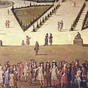 Allegrain, Etienne 1644-1736. Promenade Art Print