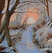 Allen Kingwell Liquin Study Art Print