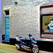 Alley In Venlo Art Print
