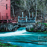 Alley Springs Mill Art Print