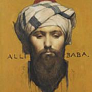 Alli Baba Art Print