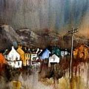 Allihies Dusk  Beara Cork Art Print